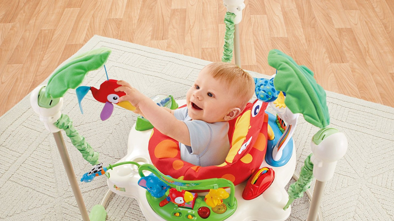 1069056c8 Fisher-price Rainforest Jumperoo Review